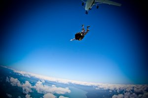 skydive bucket list australia travel backpacker