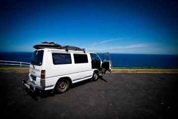campervan east coast of australia