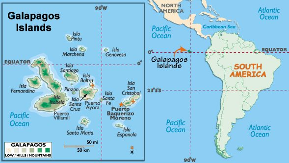 Galapagos Islands Here I Come!