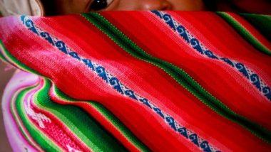 peruvian baby peru south america