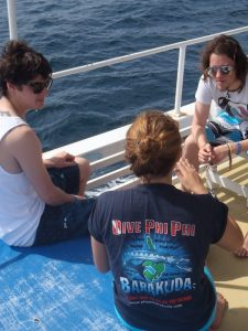 barakuda scuba dive boat