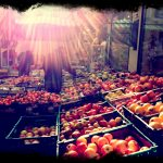 lugano fruit market switzerland iphoneography