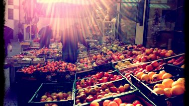 lugano fruit market switzerland iphoneography