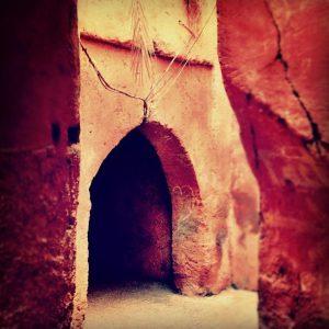 Marrakech souks market
