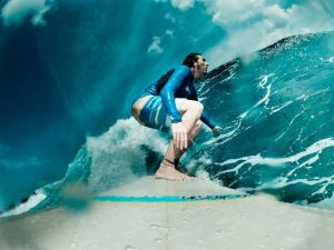 travel surf backpacker waves beach indonesia