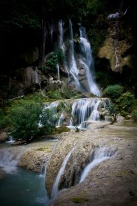 laos waterfalls luang prabang travel asia