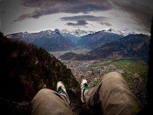 swiss paragliding interlaken flight