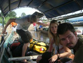 slow boat thailand to laos backpacker