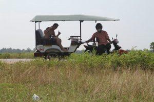 tuk tuk countryside cambodia
