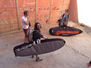backpacking surfer kit list