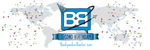 backpacker banter birthday travel blog