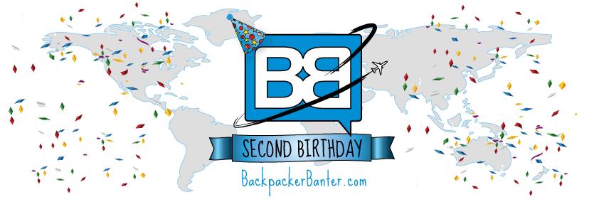 backpacker banter birthday travel blog
