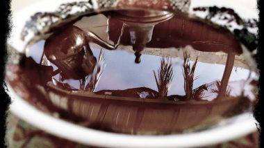 moroccan mint tea and honey