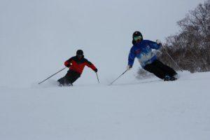skiing in japan niskeo