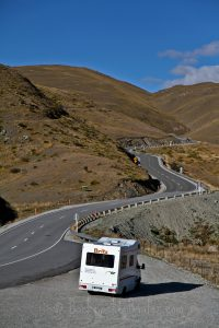 campervan trip new zealand britz