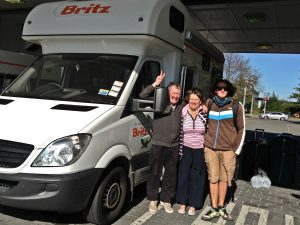 campervan britz nz