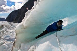 franz josef glacier ice cave