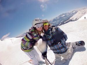 snowboarding in flims laax switzerland