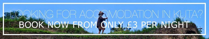 kuta accomodation bali indonesia