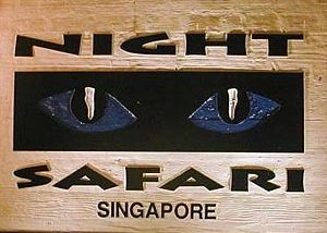 Singapore Night Safari backpacker travel asia