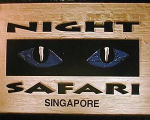Singapore Night Safari backpacker travel asia