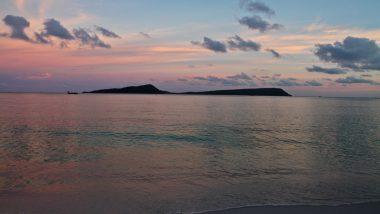 koh rong island cambodia sunset