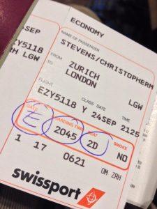 flight home uk
