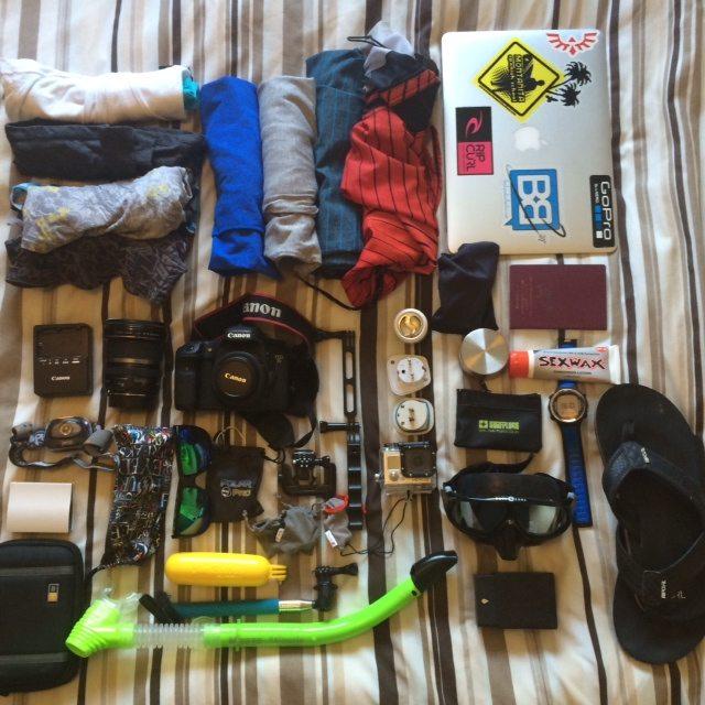 backpacker kit list long term travel