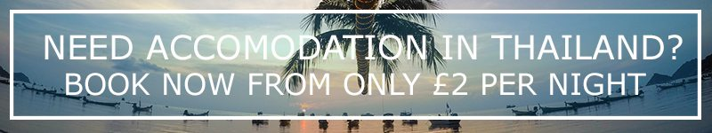 accommodation hostels hotels thailand asia