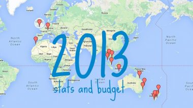 2013 travels yearly backpacker budget