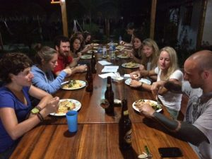 montanita cabanas hostel ecuador