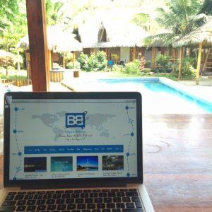 backpacker banter travel blogger