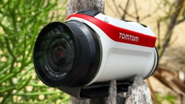 tomtom bandit action camera review gopro travel adventure shake to edit
