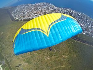fly cape town tandem paragliding signal hip south africa