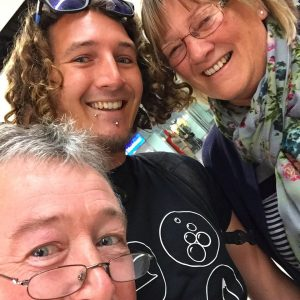 backpacker goodbye parents travel gap year