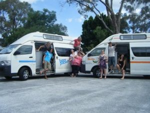 britz backpacker campervan hire australia gap year east coats