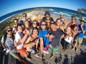 yamba yha east coast australia backpacker travel