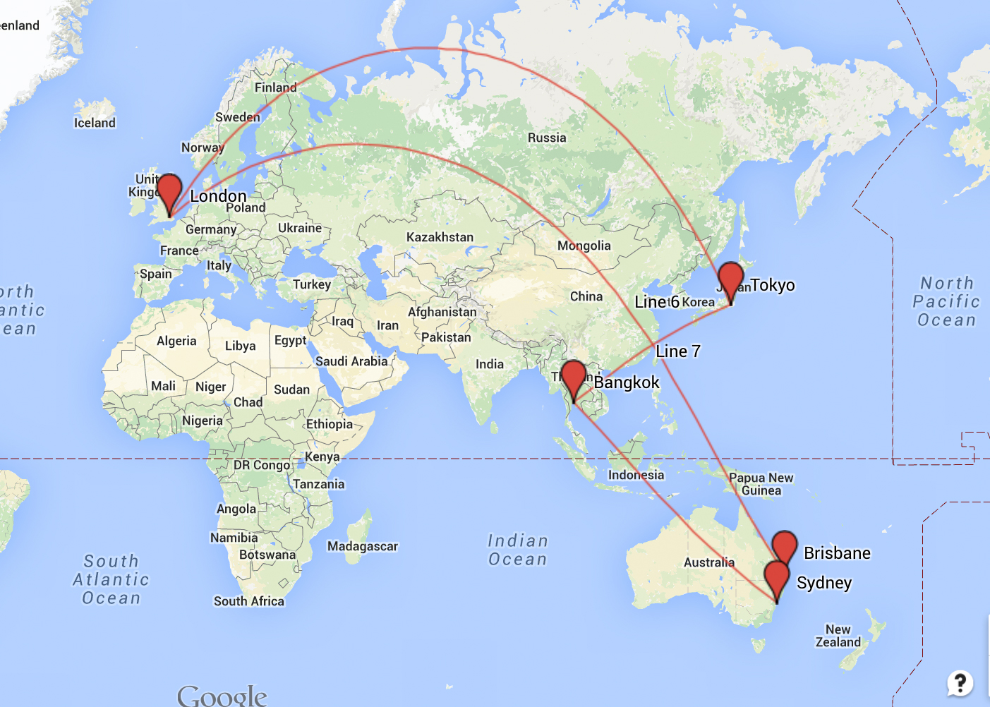My Top 7 Gap Year Routes And Round The World Ticket Ideas