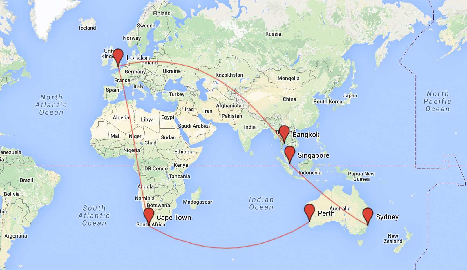 My top 7 gap year routes and round the world ticket ideas around the world gap year best flight routes destinations backpacker 2 of 7 sciox Gallery