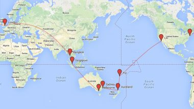 top gap year routes flight tickets round the world ideas