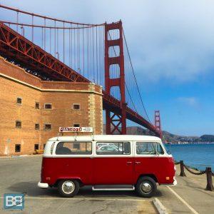 vantigo vw campervan tour san francisco california backpacker travel tour