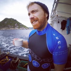 stephen a backpackers tale travel buddy diving thailand scuba