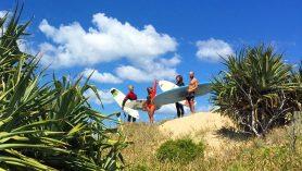 yamba yha surf east coast australia backpacker travel australia budget