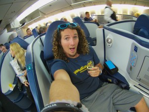 flying business class upgrade delta flashpacker travel (5 of 5)