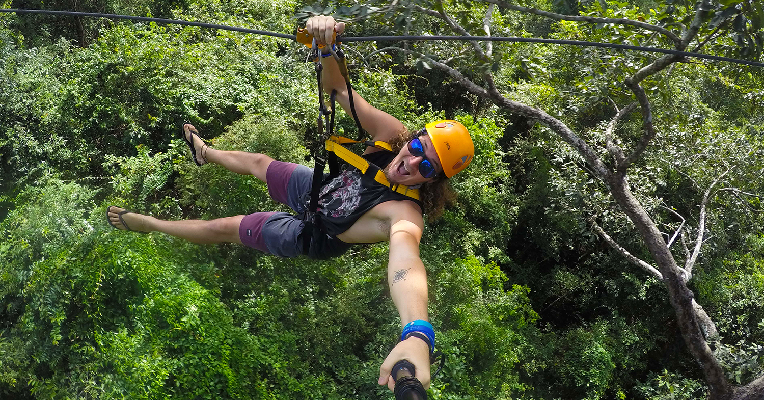 Facing My Fear Of Heights With Flight Of The Gibbon, Cambodia