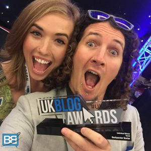 uk blog awards winner travel backpacker banter