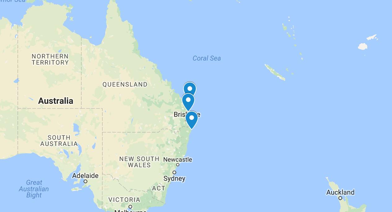 backpacker travel budget australia byron bay noosa fraser island