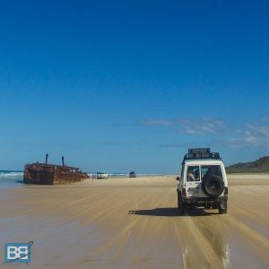 fraser island tag along tour backpacker budget australia