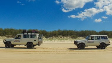 fraser island tag along tour nomads australia queensland backpacker review