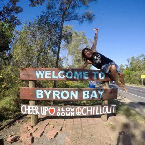 Guia para mochileiros da costa leste da Austrália em Byron Bay